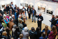 The opening of Ragnar Axelsson exhibition