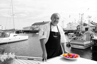 Chef Vittorio Serritelli and the power of flowers
